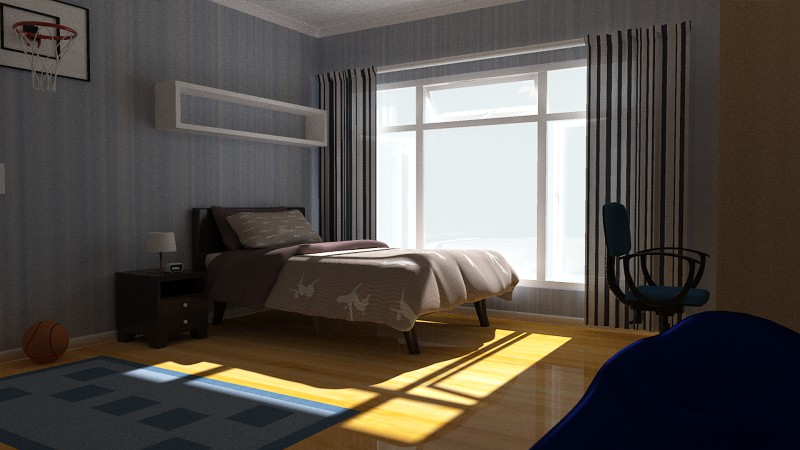 Kids Bedroom 3d Model boys bedroom 3d models truform