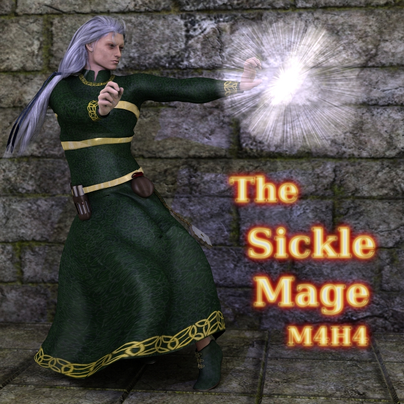 The Sickle Mage M4H4