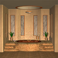 The Spa Room 3D Models 3D Figure Assets Richabri