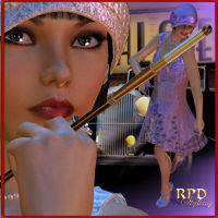Paragon Club Flapper Dancer Themed Clothing renapd