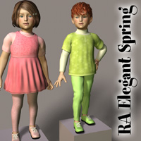 RA ElegantSpring for Kids4 Themed Clothing RAGraphicDesign
