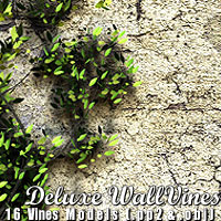 Deluxe Wall Vines by designfera