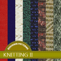 Designer Patterns - Knitting 2 2D And/Or Merchant Resources Atenais
