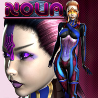Nova 3D Figure Assets 3D Models shaft73