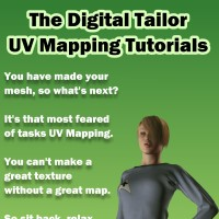 The Digital Tailor UV Mapping Tutorials Tutorials Fugazi1968