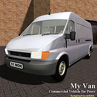 My Van 3D Models Simon-3D
