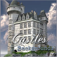 Castles Backgrounds 2D 3D Models -Melkor-