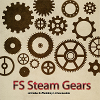 FS Steam Gears 3D Models 2D Graphics FrozenStar