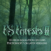 FS Forests II 3D Models 2D Graphics FrozenStar