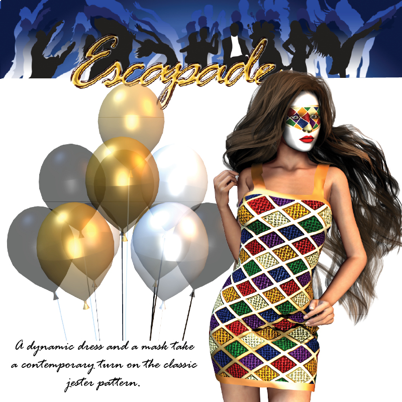 AW Escapade Dynamic Dress and Mask