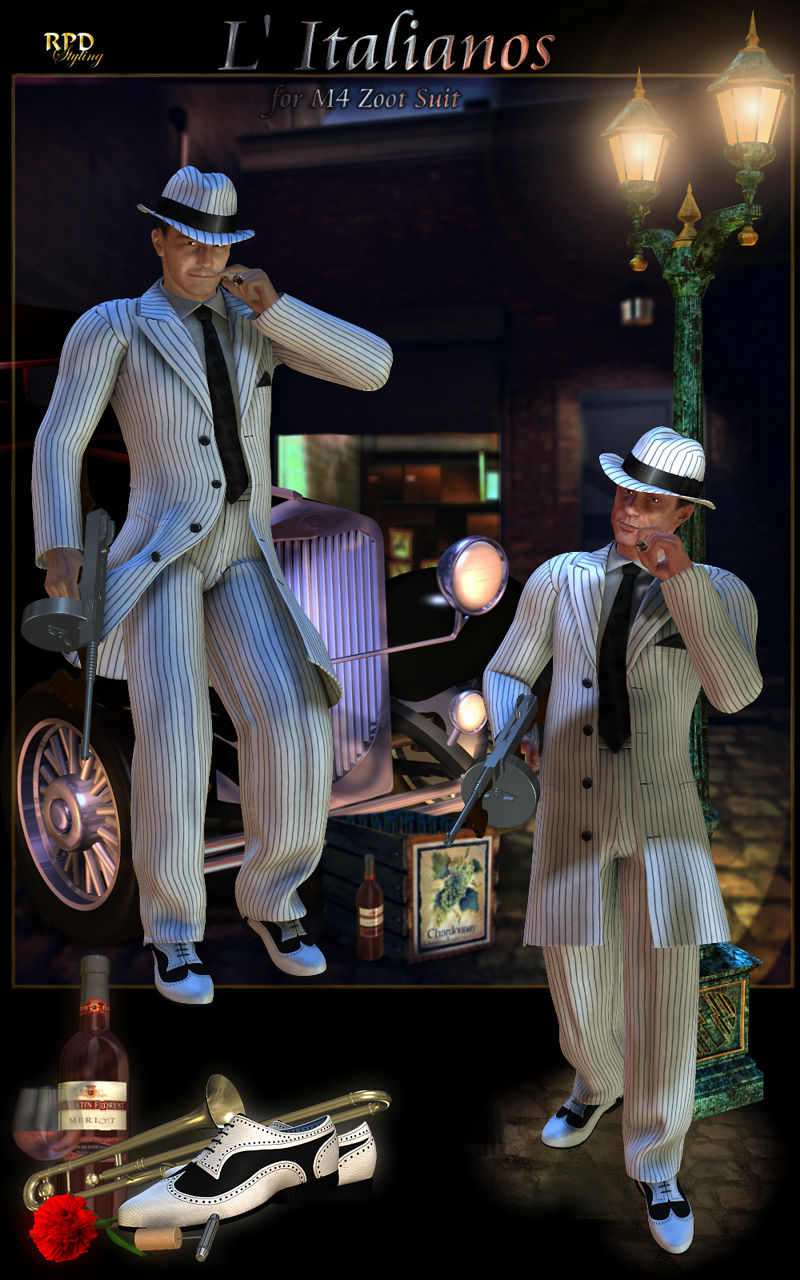 L Italianos for M4 Zoot Suit