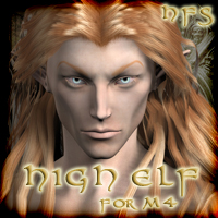 HFS Elven Races- High Elf for M4 3D Figure Essentials 3D Models DarioFish