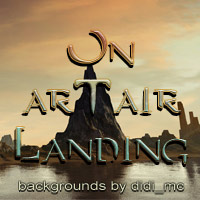 On arTair Landing 3D Models 2D Graphics didi_mc
