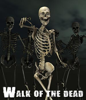 Walk of the Dead 3D Figure Essentials 3D Models ile-avalon