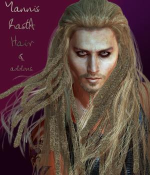 Yannis Rasta Hair and Addons by StudioArtVartanian