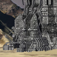 Allied Fleets Outpost- Poser OBJ 3DS MAX image 5