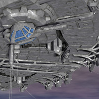 Allied Fleets Outpost- Poser OBJ 3DS MAX image 6