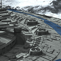 Allied Fleets Outpost- Poser OBJ 3DS MAX image 8