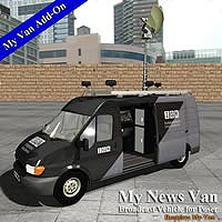 My News Van 3D Models Simon-3D