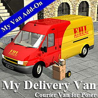My Delivery Van 3D Models Simon-3D
