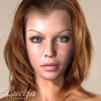 Lucija for V4 by adamthwaites 3D Figure Essentials adamthwaites