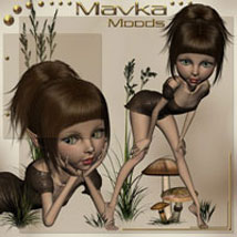 Mavka Moods 3D Figure Essentials ilona