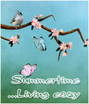 Summertime - Living Easy 3D Models 2D Graphics Bez