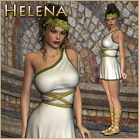 Helena Dress (V4, A4, G4) Themed Clothing RPublishing