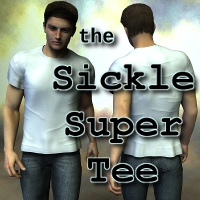 Sickle Super Tee M4H4 by SickleYield