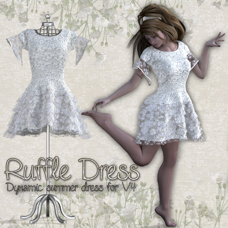 RuffleDress for V4
