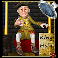 King Hein Themed Clothing Stand Alone Figures Karth