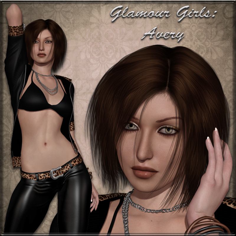 Glamour Girls - Avery for V4