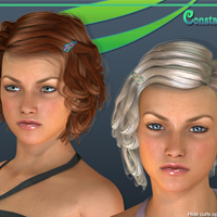 Contstanza Hair for V4 image 1