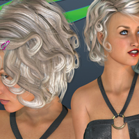 Contstanza Hair for V4 image 6