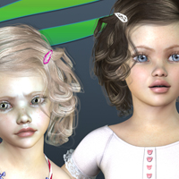 Contstanza Hair for V4 image 7