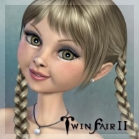 TwinFair II for Mavka 3D Figure Assets fabiana