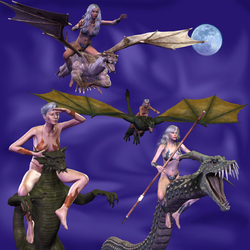 Beast Mistress-Dragons