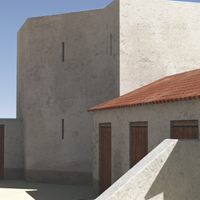 Greek Prison 3D Models Rich_Potter