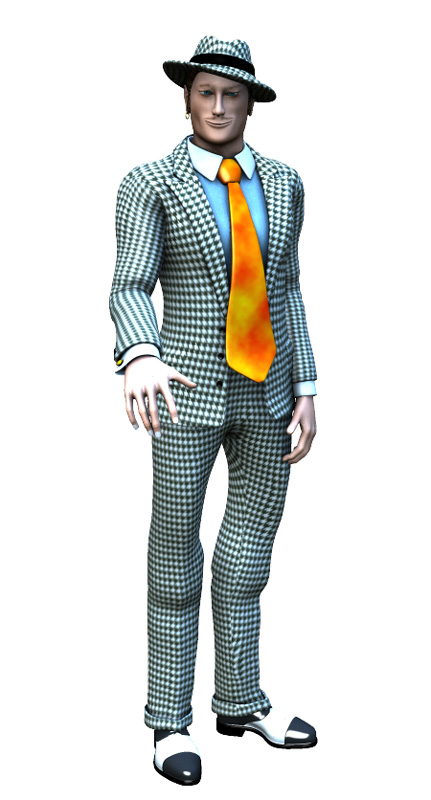 Story Book Character - Viv the Spiv