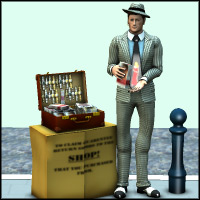 Story Book Character - Viv the Spiv 3D Models PhilC