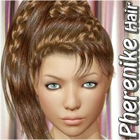 Pherenike Hair 3D Figure Essentials Mairy