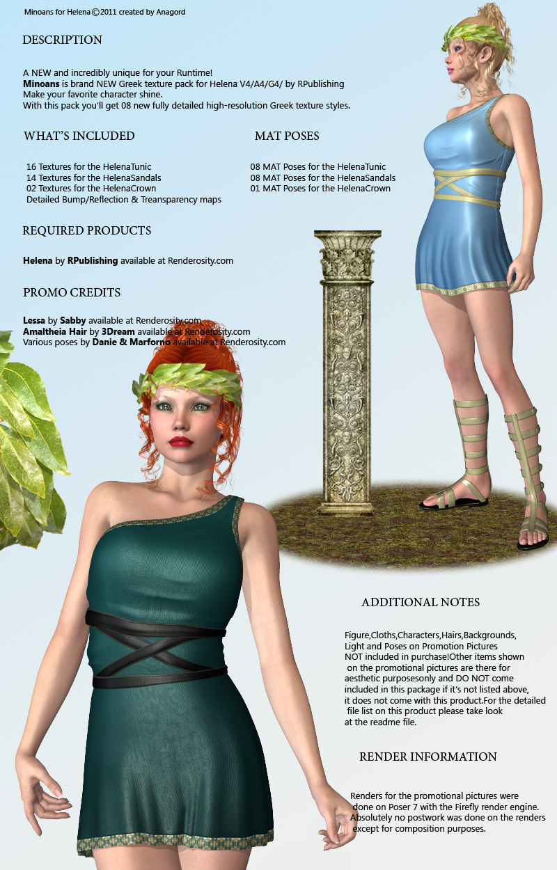 MINOANS for Helena by RPublishing