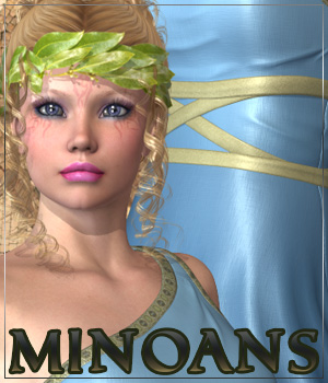 MINOANS for Helena by RPublishing 3D Figure Assets Anagord