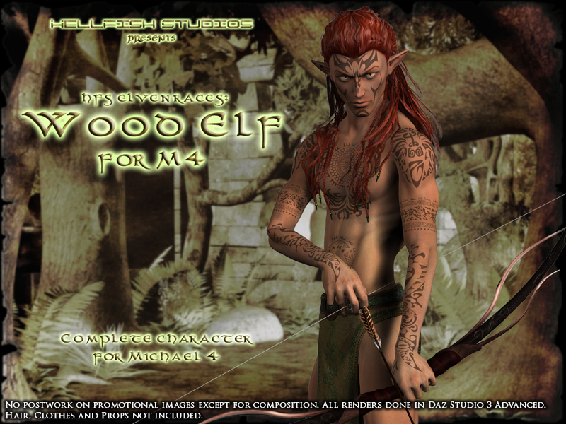 HFS Elven Races- Wood Elf for M4