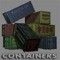 Cargo Containers 3D Models coflek-gnorg