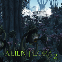 Swidhelms Alien Flora 2 2D Graphics 3D Models Swidhelm