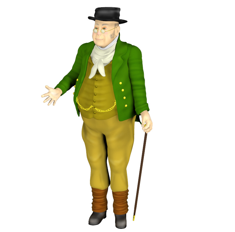 Story Book Character - Mr Pickwick