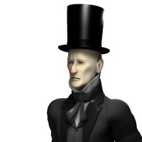 Story Book Character - Scrooge 3D Models PhilC