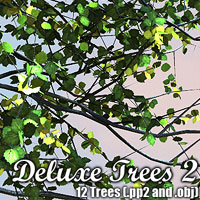 Deluxe Trees 2 by designfera