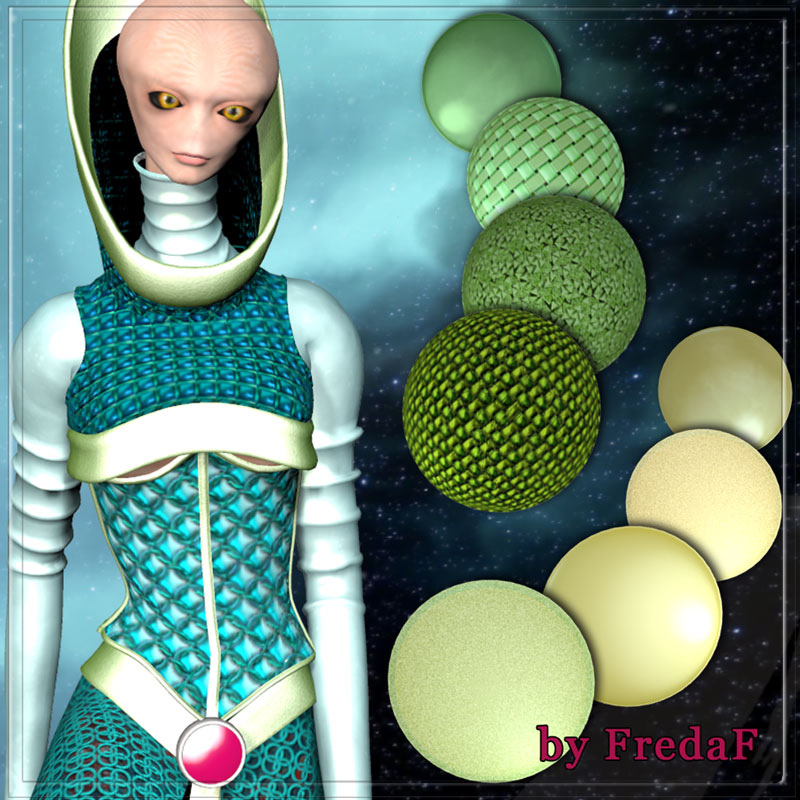 Space Materials for Poser